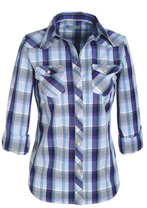 Mylie Plaid শার্ট