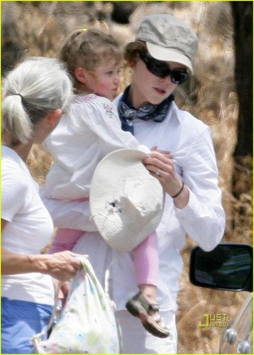 Nicole Kidman and Sunday Rose: Maui Outdoors Adventure