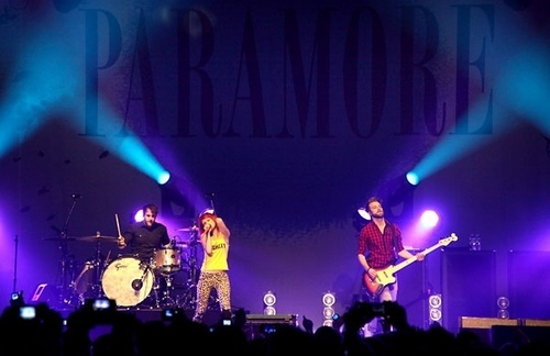 Paramore in Knoxville