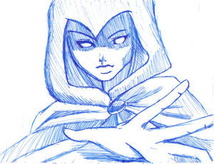 Raven por Blueshadows (Deviant Art)