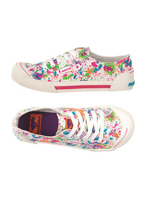 Rocket Dog Jazzin'-2 Paint Splatter Sneaker