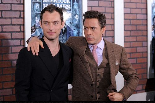 Sherlock Holmes New York Premiere - 17th December