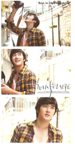 Siwon for Boys In The City