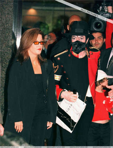 MJ with Lisa