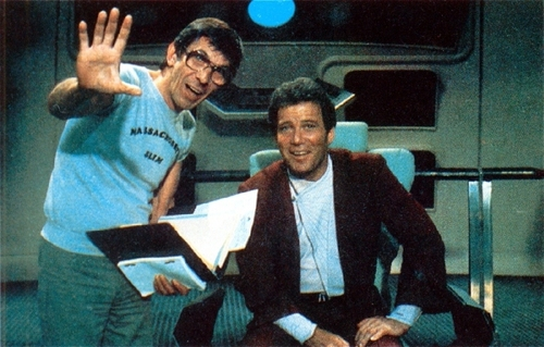 Nimoy - TOS Behind the Scenes