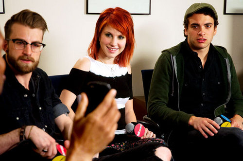 Paramore in Billboard