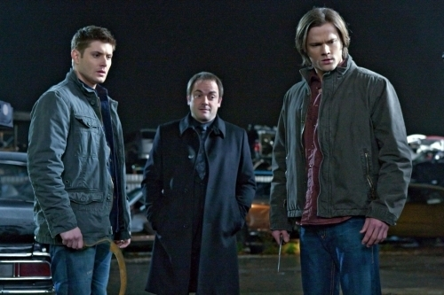 Dean, Sam, and Crowley