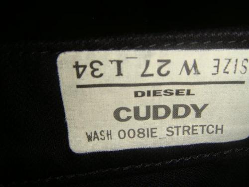 Diesel jeans named Cuddy!