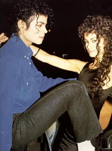 MJ and Tatiana