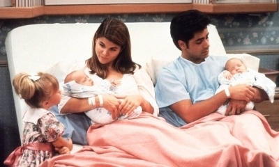 Season 4 Becky and Jesse with the babies at the Hospital