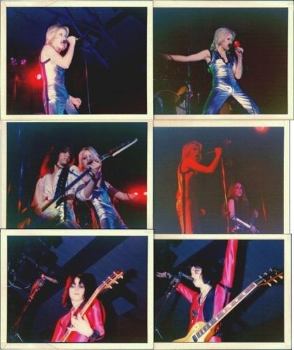 The Runaways play in California - 1977