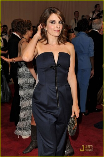 Tina Fey: MET Ball Jumpsuit!