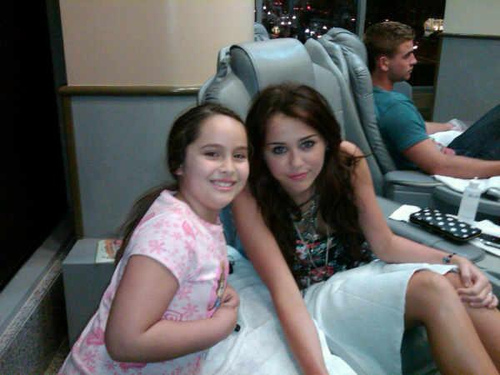 miley and liam salon