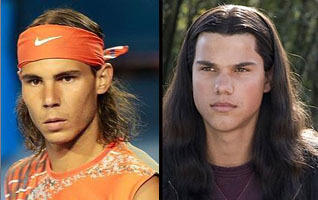 rafa and his twins taylor lautner ******