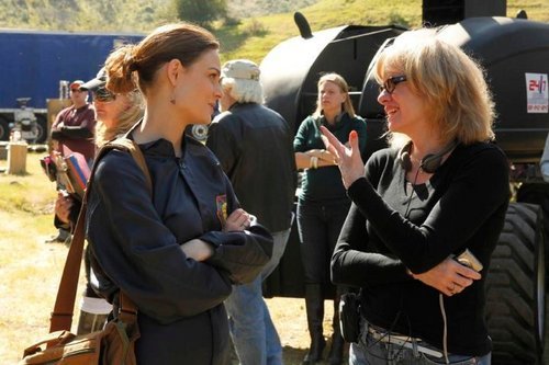 Kathy with Emily Deschanel