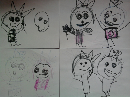 My Four Year Old Sister, The Craziest DxC Fan Art Creator!
