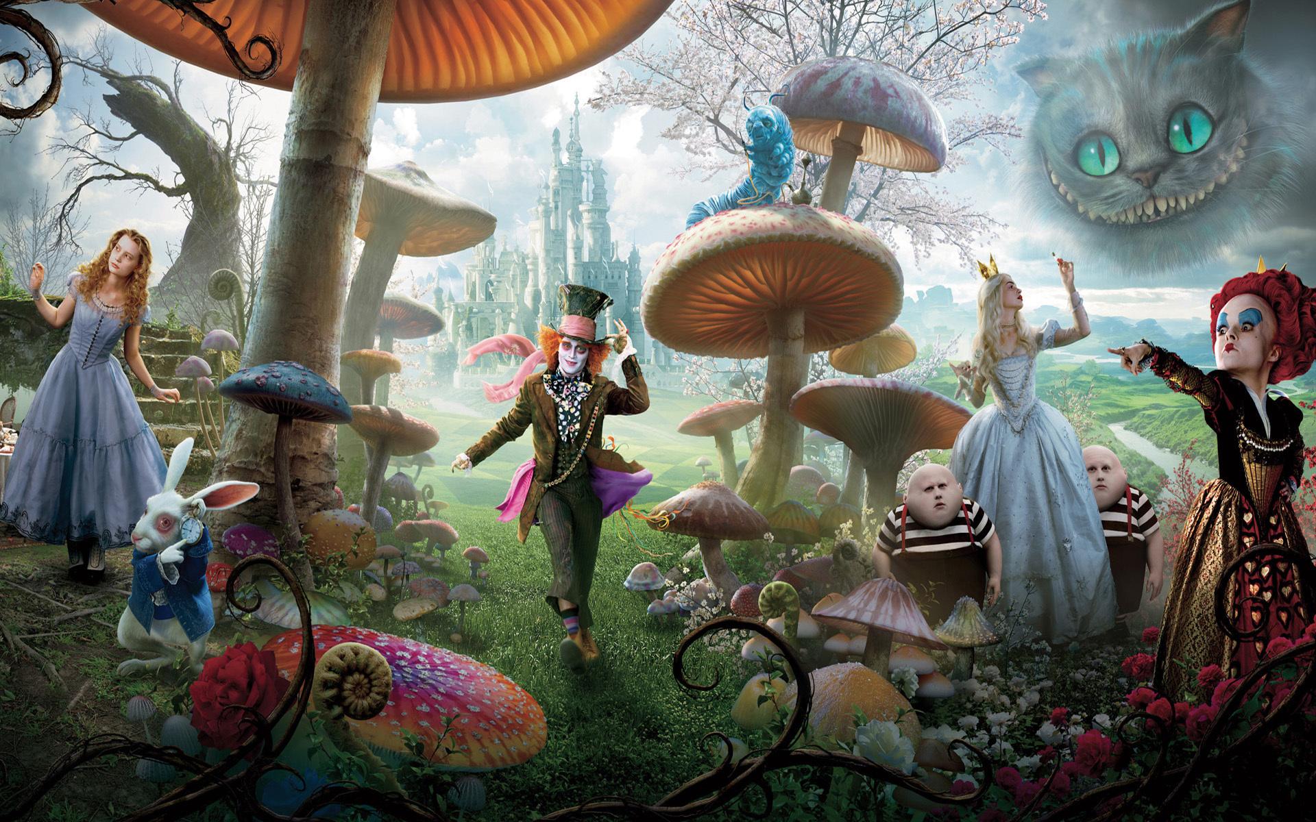 alice in wonderland wallpaper Alice in Wonderland (2010) images Alice in Wonderland HD wallpaper  alice in wonderland wallpaper