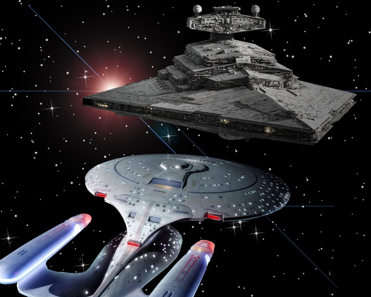 Enterprise D V Star Destroyer Star Trek Fans Wallpaper 12126227 Fanpop