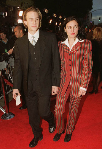 Heath Ledger on the Titanic Premiere 1997