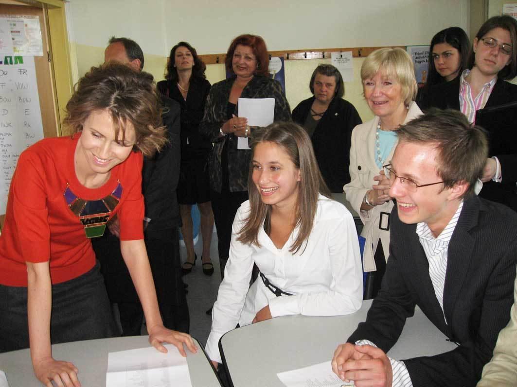 Asma Al Assad S Zein Al Assad Daughter Pictures to Pin on ...