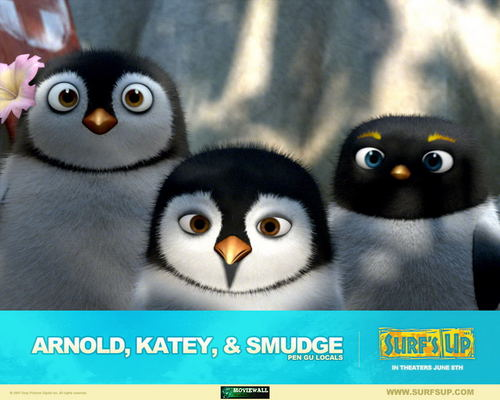 Arnold katey and smudge