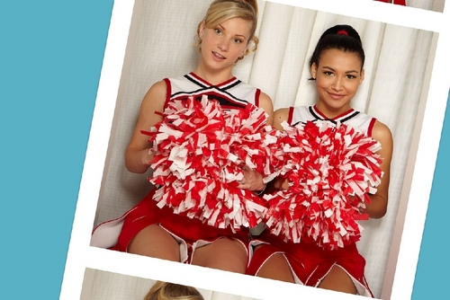 Brittany and Santana - 狐, フォックス Photobooth