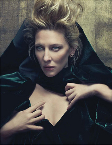 Cate Blanchett covers W Magazine June 2010