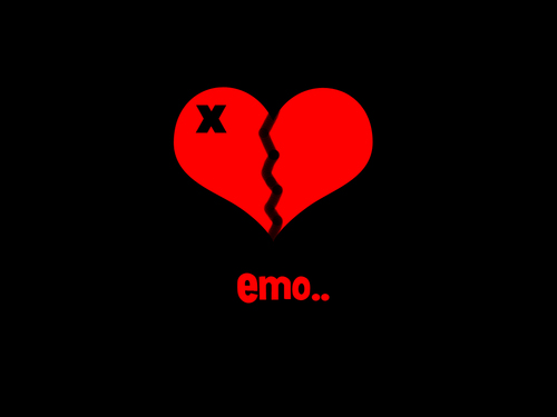 Emo Love Wallpaper