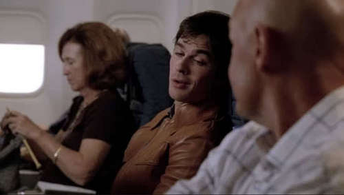 Ian Somerhalder in Lost episode 6x01 LAX part 1