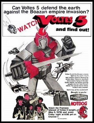 Voltes V the old T.V. add