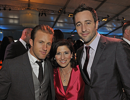 Hawaii Five-O Cast @ celebration for the New York Upfronts