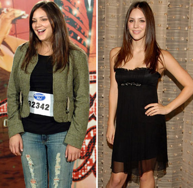 Katherine McPhee Then and Now