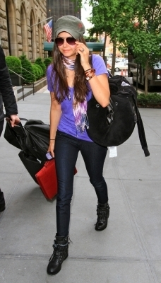Nina Dobrev out and about in NYC - May 19