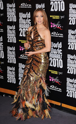 World Musica Awards 2010 - Press Room