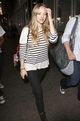 Amanda at LAX Airport (May 23rd)