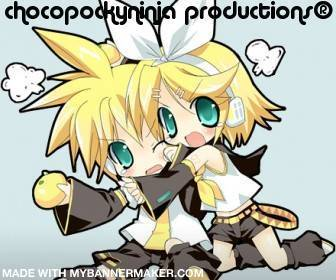 chocopockyninja productions® logo