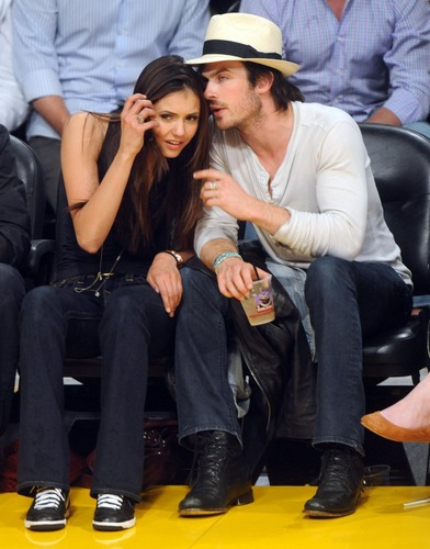 Ian & Nina - Laker Game (HQ)