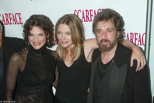 Michelle Pfeiffer, Mary Elizabeth Mastrantonio and Al Pacino