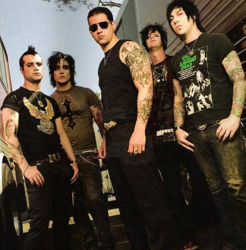 Avenged Sevenfold photoshoot