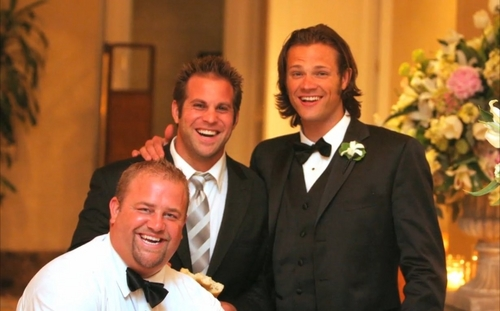 Jared [at Jensen's wedding]