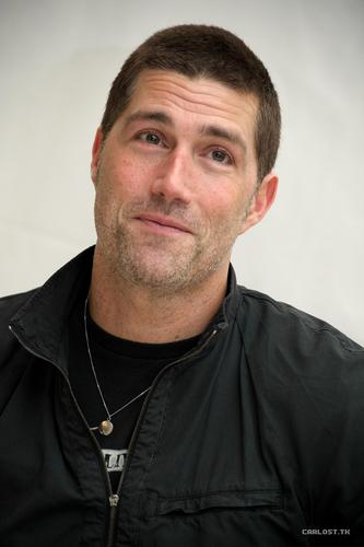 Matthew fox, mbweha ♣ Lost Press Conference