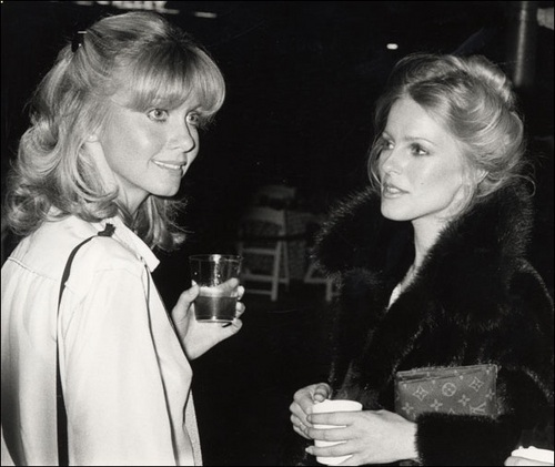 Olivia Newton-John and Cheryl Ladd