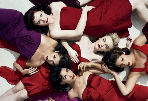 eclipse ladies- vanity fair 2010 .