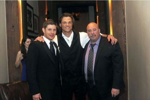 Jensen [at Jared's wedding]