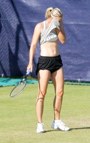 Maria Sharapova in Birmingham (June 3)