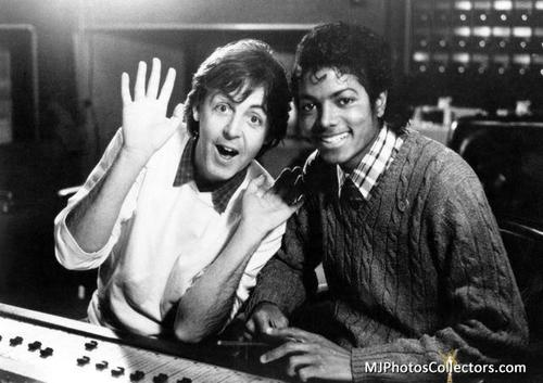 Michael & Paul McCartney