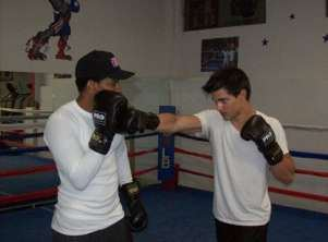 Taylor Lautner Trains for 'Abduction'