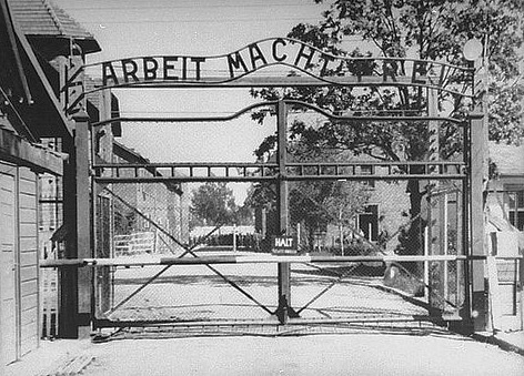 The Front Gate of Auschwitz