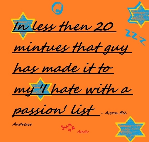 Arron's quote