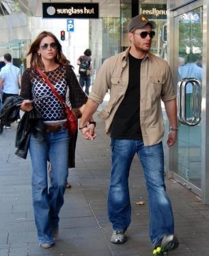Danneel and Jensen Ackles
